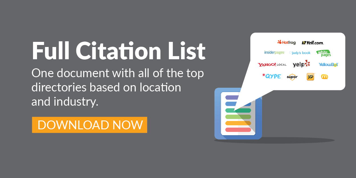 The Importance Of Local Listings And Business Citations For B2B
