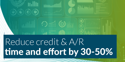 Reduce time spend on credit by 50%