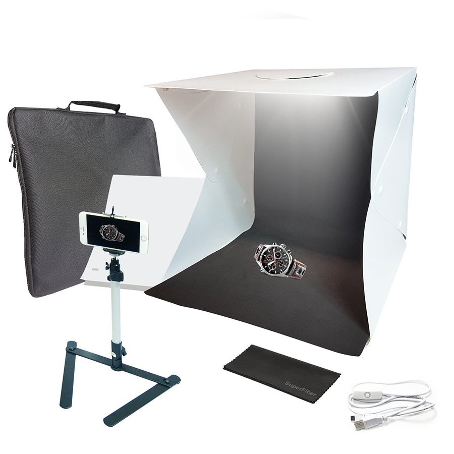 Use a lightbox for better product photos