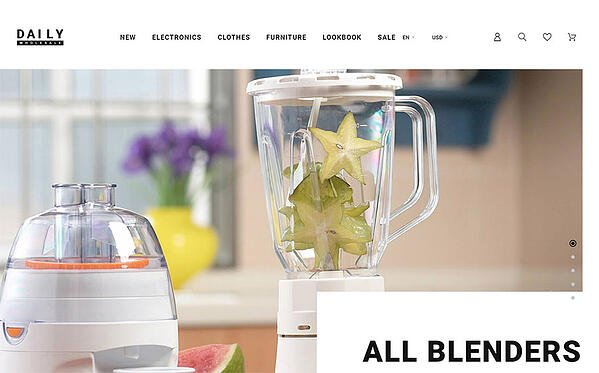 Blenders in ecommerce