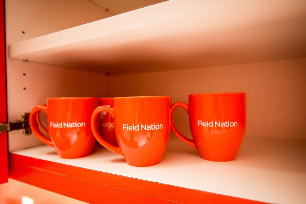 Coffee at field nation