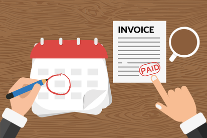 DSO and Invoice vector image