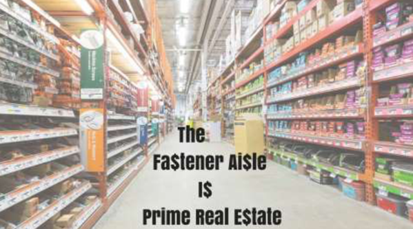 Fasteners through brick & mortar