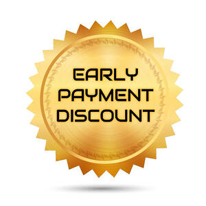 discounts-early-payment-order to cash