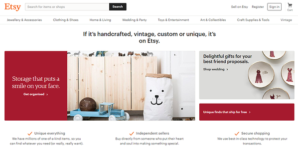 Etsy for B2B