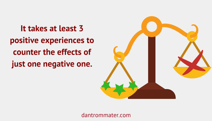 positive customer experiences