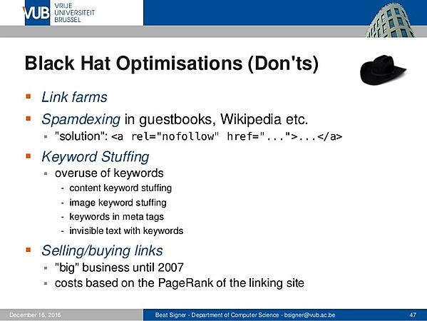 keyword stuffing bad practices